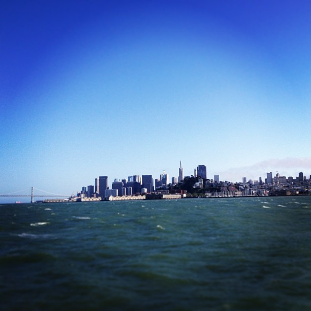#downtown #sanfrancisco #bayarea #ocean #california  (at Alcatraz Island)