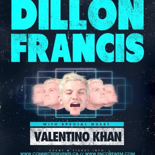 EDMONTON! I'm playing w/ my dude @DillonFrancis this Sat 5/18. We're gonna get you pregnant figuratively speaking.