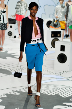 lovelostfashionfound:  Shena Moulton - Diane von Furstenberg Resort 2012