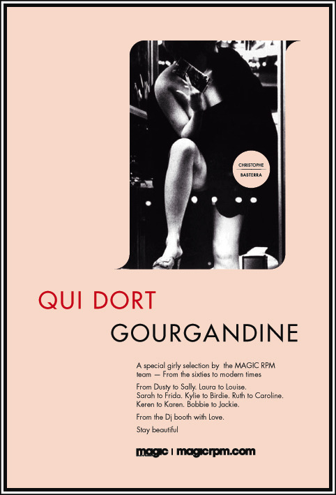 "OLD WORK FLYER ""QUI DORT GOURGANDINE"" (2009)"