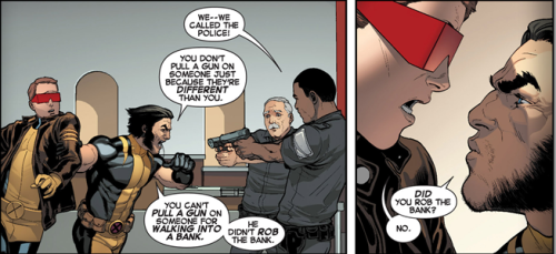 Oh Wolvie… (Young Scott is adorable.)