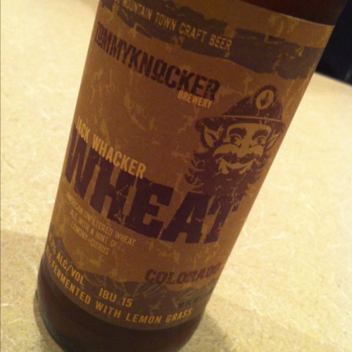 Tommyknockers Wheat. It has lemongrass in it. Weird but not fun.