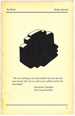 vintageanchor:  The Two Raymond Chandler Sentences That Changed Walter Mosley's Life…   More here.