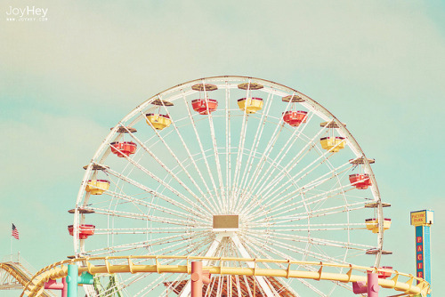Colorful Ferris Wheel by JoyHey on Flickr.