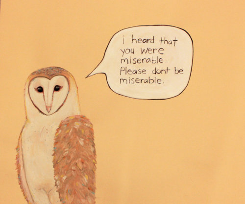 lastdaysofmagic:  Listen to the Owl.