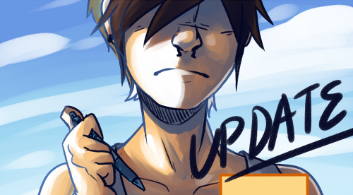 INTRODUCIIIIIIIIING: A Mirror's Tale! 6 page update today, folks! :Y I hope to keep the pace up Y v Y !! The intro is 20 pages, including the title page, SO! At this pace, I'll be finished in 4 days uvu/ I'm really excited about this man, I love how these are turning out x,D [[Click to View]] + follow the blog if you would like to be included in the updates as they come yvy !!