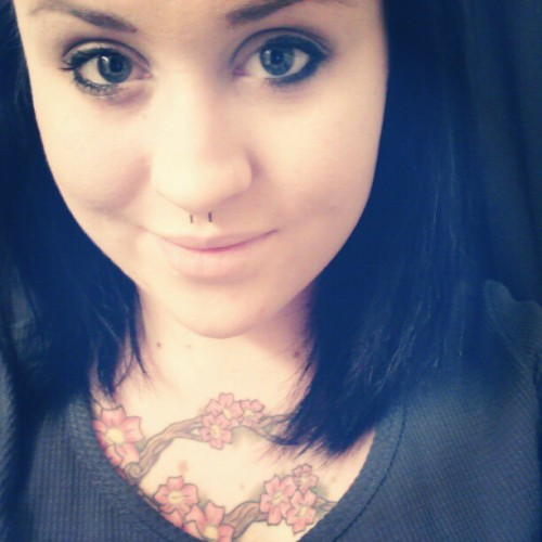 #cute #beautiful #girl #tattoos  #ink #lesbian #piercings
