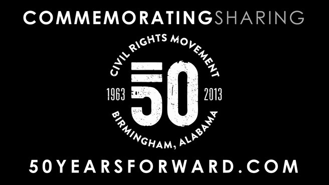 2013 marks the 50th Anniversary of the Birmingham Civil Rights Movement. In honor of the individuals that fought for equality that year, and all movers-and-shakers that are making their voices heard today, the City of Birmingham have planned an impressive year-long, city-wide initiative that, we believe, serves several purposes.  To re-educate the world on the sacrifices and challenges the civil rights activists faced to make the United States an equal nation. To re-ignite the passion for equality, acceptance and understanding, that were displayed so forcefully at this time. To re-promote Birmingham as a place of history and change.  We personally believe that this campaign is definitely a cause for celebration. It will be interesting to see how this campaign moves forward throughout the year.
