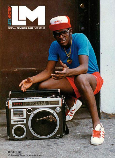 Lets Motiv (France) Magazine The Neighborhood Boombox B-Boy