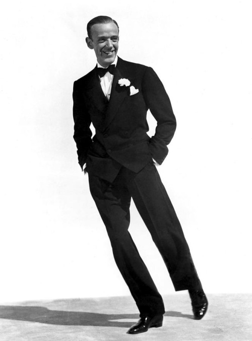 An original handsome devil. It's how you wear it!  Fred Astaire born Frederick Austerlitz on May 10, 1899