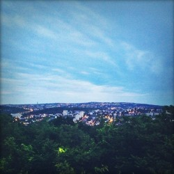 #serbia #belgrade #view #city #scenery #dusk #twilight #sky (at Restoran Rubin)