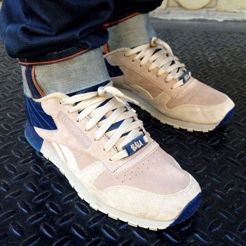 #WDYWT BAU x Reebok Classic Leather Lux