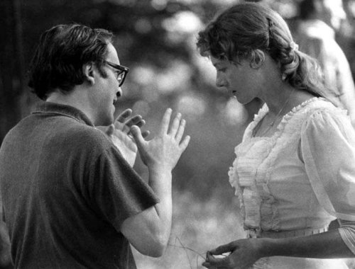 Sidney Lumet directs Vanessa Redgrave in The Sea Gull