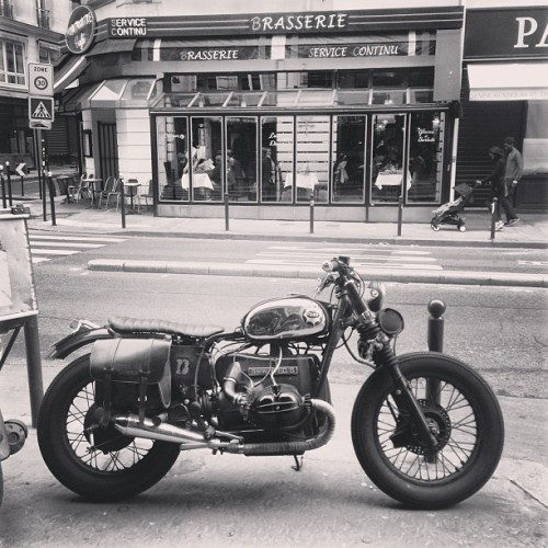 mikegoubeaux:  For markus / motodope. (at Chez Papa)  I should never have to explain why Paris is my favorite city ever.