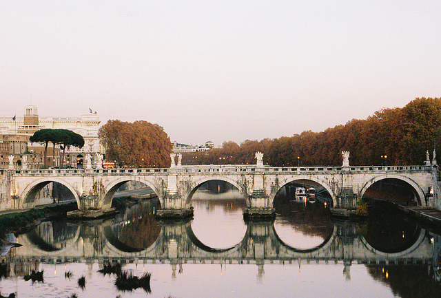 Ponte St'Angelo, Rome  | by © pctBK | via greekg0ds