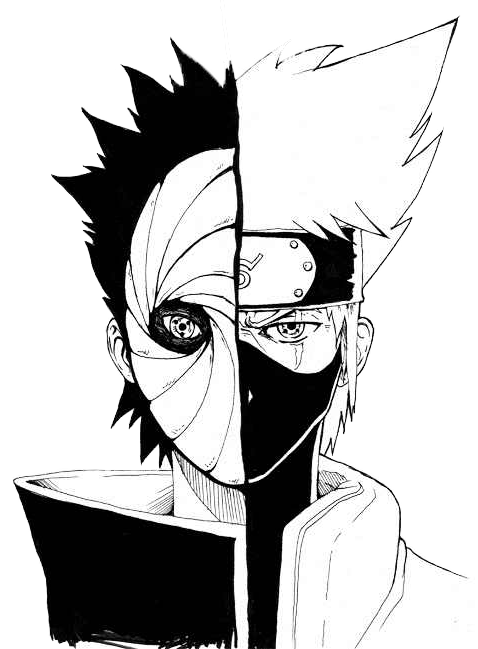 Transparent Obito/Kakashi