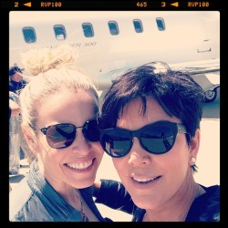 news-kardashian:  Kris: Oh hi @chelseahandler !!! Road trip with my new BFF Wooohooo ….oops sorry @shellibird1