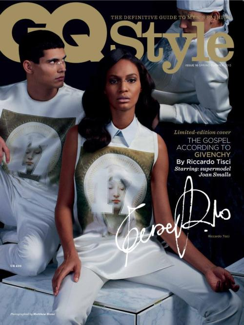 designscene:   Givenchy for GQ Style UK With Joan Smalls by Matthew Stone