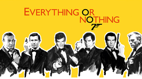 netflixia:  Everything or Nothing: The Untold Story of 007 (2012) Not Rated - 1hr 38m He's the greatest secret agent in the world, but who are the men behind Agent 007? This engrossing documentary goes inside the James Bond legend to uncover how a series of spy stories became one of the most iconic franchises in cinema history. 7.7/10 - IMDB View Clip || Add/Watch on Netflix