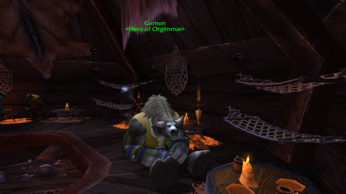 wow-images:  [WOD] Our hero, Gamon!