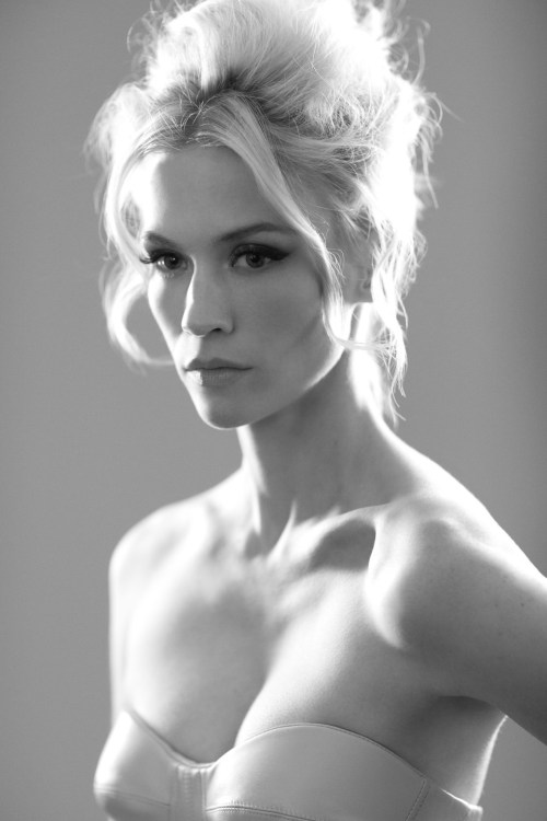 bohemea:  January Jones by Lorenzo Agius