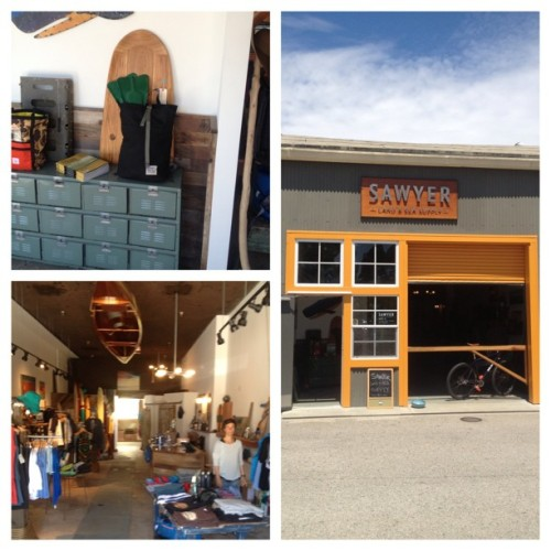 @sawyersupply is another great shop I'm happy to have product with I Santa Cruz. great to meet you today Stacy!