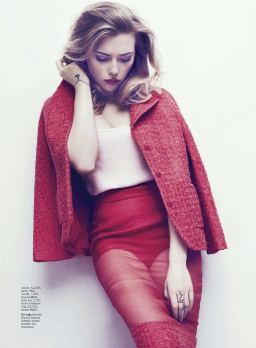 bohemea:  Scarlett Johansson - Marie Claire by Txema Yeste, May 2013
