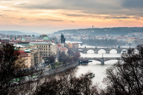 Prague panorama by Gaïl L on Flickr.