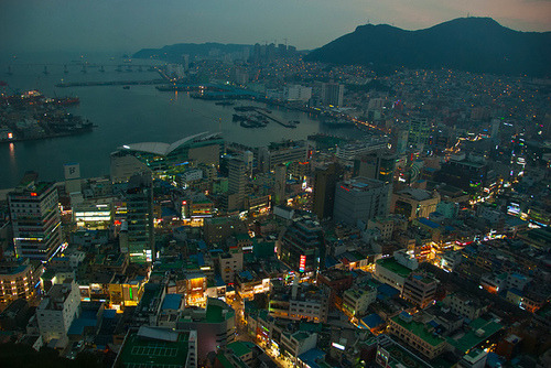 southkorealover:  Busan in the evening on @weheartit.com - http://whrt.it/Zu9P7Q