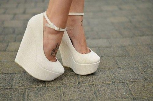 White shoes on @weheartit.com - http://whrt.it/113Qcld