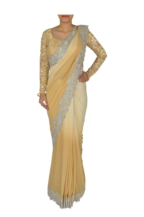 Different Types Of Party Wear Sarees 37