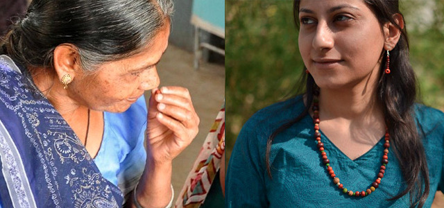 Jewelry brand hires blind workers to create designs with sense of smell Deaf workers make up the core of the staff at the Atfaluna restaurant in the Gaza Strip, and now another business is making an effort to integrate those with sight problems into society. Made In The Dark is a jewelry brand enabling blind women in India to create designs using their sense of smell. READ MORE…