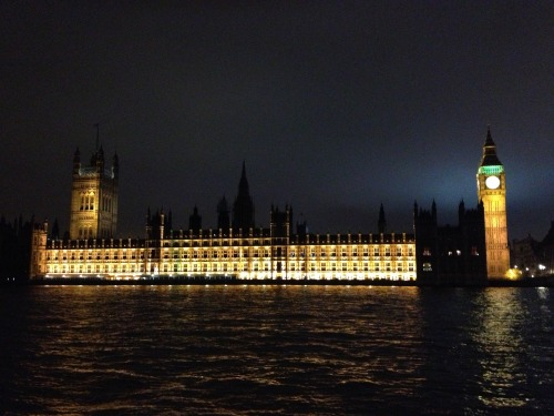 Exterior Lighting, Parliament,  London