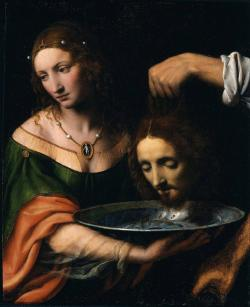 Bernardino Luini: Salome with the Head of Saint John the Baptist