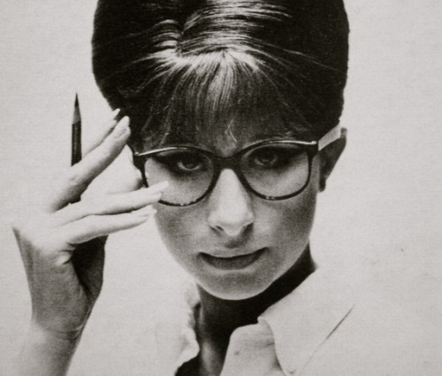 Barbra.  #nerdchic via vogueandcoffee