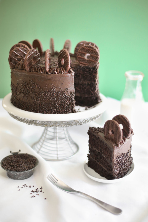 bakeddd:  chocolate therapy cake click here for recipe
