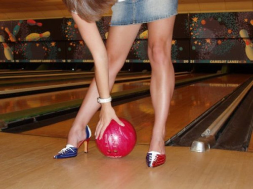 sexy bowling shoes
