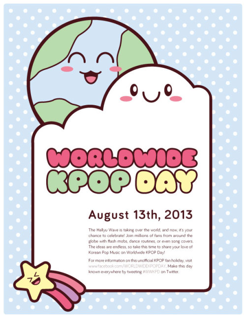 247kpopofficial:  Worldwide KPOP Day is fast approaching. What will you do to celebrate the day?