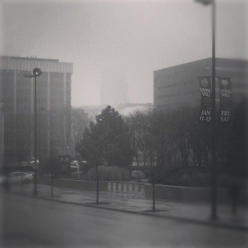 A nice #foggy day in #GrandRapids