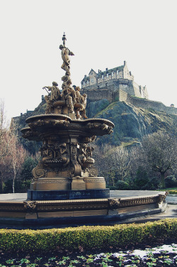 oldsmokes:  Edinburgh Castle, Scotland