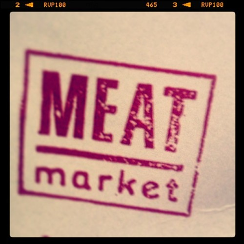 Got to love #meatmarket #london #foodporn  (at London)