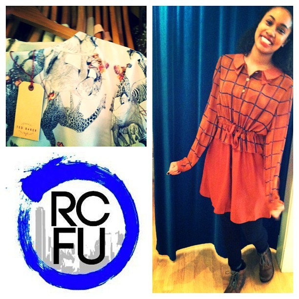 @sydniham looking fantastic on behalf of @RCFashionU at tonight's trunk show for #marimekko. #vcu #rva  (at Eurotrash)