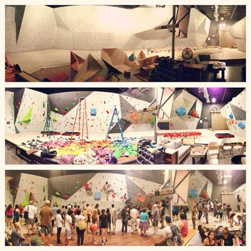 christiancelestino:  I actually ran a #bouldering #competition @vitalclimbinggym. #panorama #beforeandafter #vitalclimbinggym #murrieta (at Vital Climbing Gym)