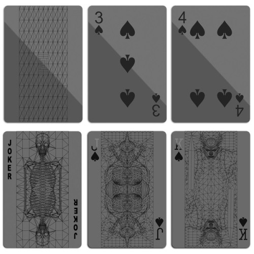 Black Playing Cards — ANCHOR DIVISION