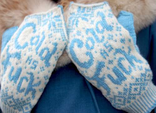 spiritguide:  (via Ravelry: How Cold Is It? pattern by Drunk Girl Designs)