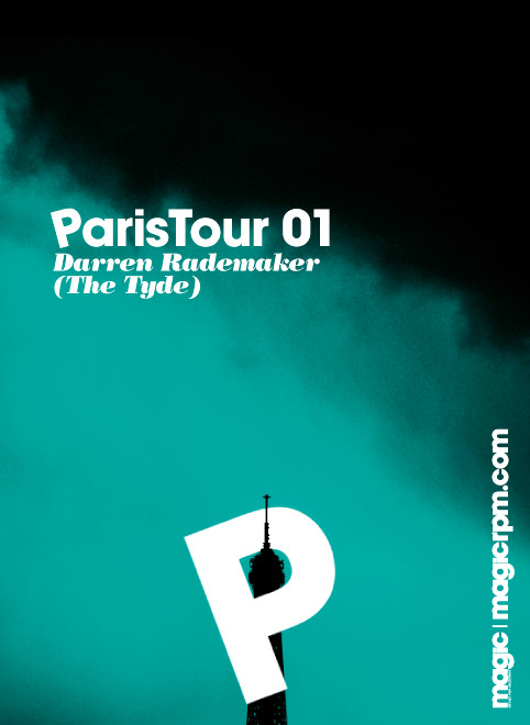 "OLD WORK FLYER ""PARIS TOUR"" (2009)"