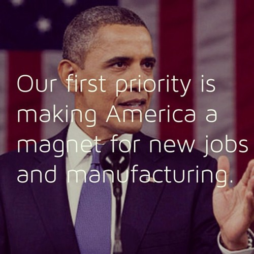 #Obama wants new #American #manufacturing #jobs #stateoftheunion