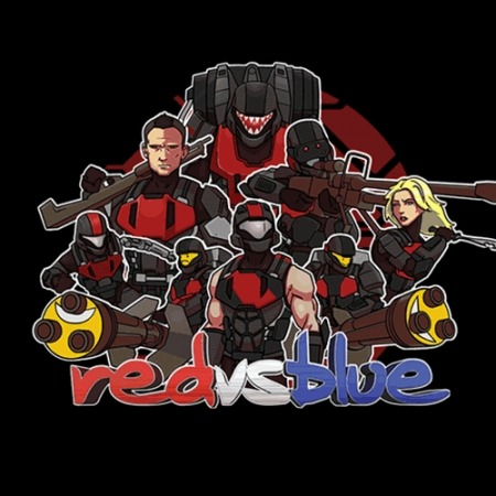 lxii:  4 T-shirt Tuesday designs on Rooster Teeth - Reds, Blues, Freelancers, and Insurgents. Get them here.