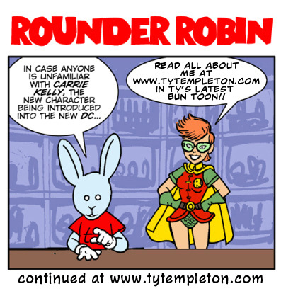 tytempleton:  The Robins Get Rounder Bun Toons! YAY!