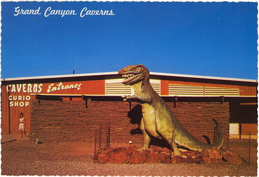 Tyrannosaurus Canyon BAD POSTCARDS - T-REX ...